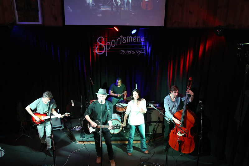 Rodney Crowell at Sportsmen's Tavern with Steuart Smith , Shannon McNally, Joanne Gardner Buffalo, NY May 12 , 2014