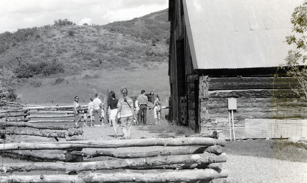 Music in the Mountains Orchestra picnic at Louis L'Amour Ranch July '91