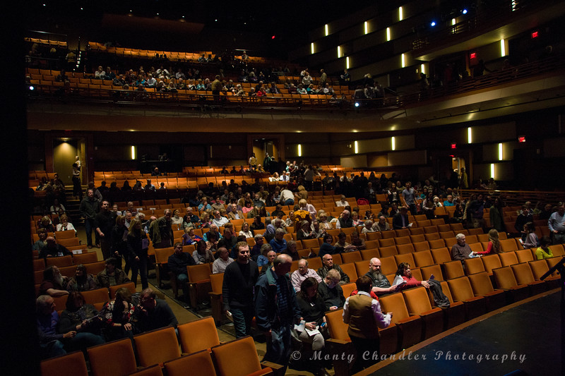 The doors open for the Tosco Music Party at the Knight Theatre in Charlotte, NC January 30th, 2016.