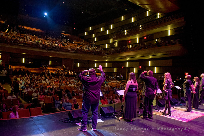 Opening of the Tosco Music Party held at the Knight Theatre in Charlotte, NC September 10, 2016.