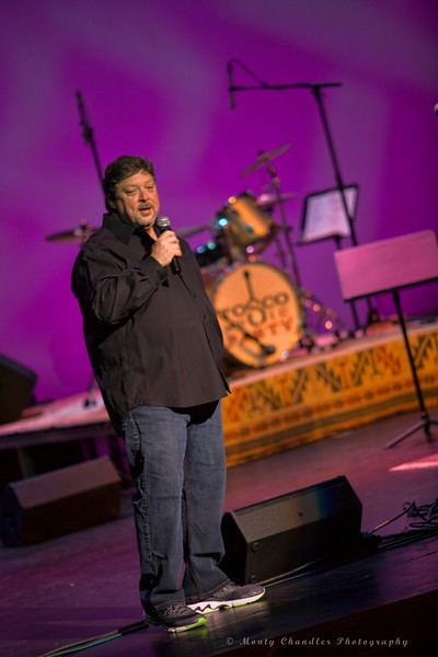 Emcee John Tosco at the Tosco Music Party held at the Knight Theatre in Charlotte, NC September 10, 2016.