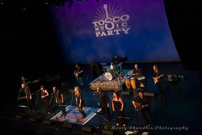TMP choir & band performing at the Tosco Music Party held at the Knight Theatre in Charlotte, NC September 10, 2016.