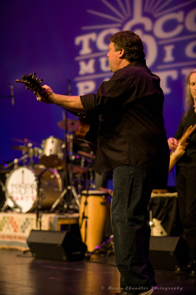 John Tosco performing at the Tosco Music Party held at the Knight Theatre in Charlotte, NC September 10, 2016.