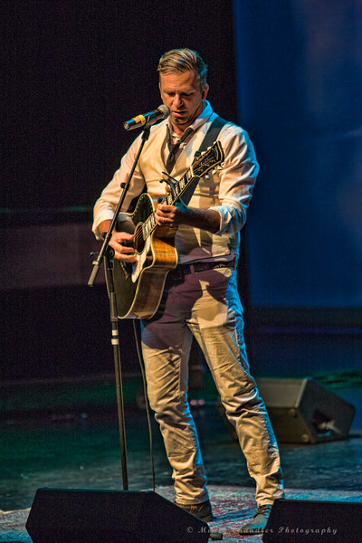 Chris Trapper performing at the Tosco Music Party held at the Knight Theatre in Charlotte, NC September 10, 2016.