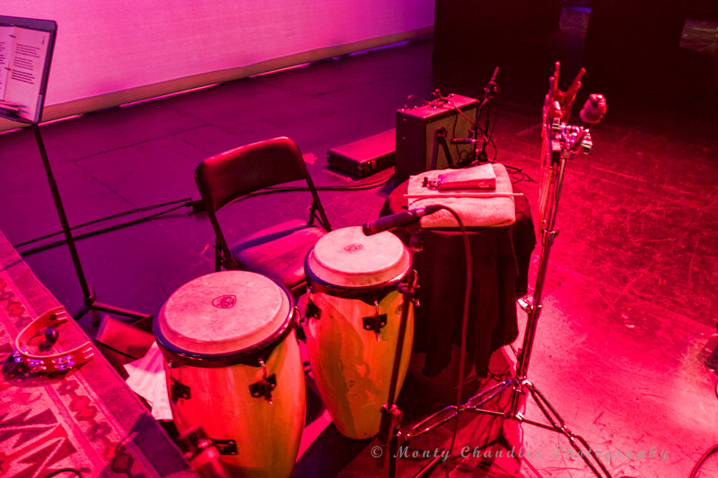 Percussion Station at the Tosco Music Party held at the Knight Theatre in Charlotte, NC September 10, 2016.