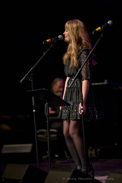 Olivia Martin performing at the Tosco Music Party held at the Knight Theatre in Charlotte, NC September 10, 2016.