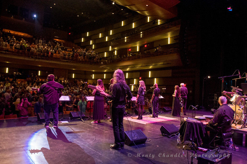 The TMP choir & band performing at the Tosco Music Party held at the Knight Theatre in Charlotte, NC September 10, 2016.