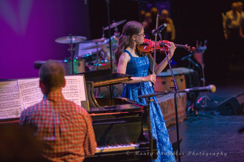 Caroline Smoak performing at the Tosco Music Party held at the Knight Theatre in Charlotte, NC September 10, 2016.