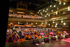 The house begins to fill at the Tosco Music Party held at the Knight Theatre in Charlotte, NC September 10, 2016.