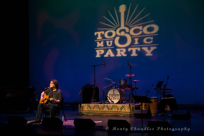Craig Carothers performing at the Tosco Music Party held at the Knight Theatre in Charlotte, NC September 10, 2016.