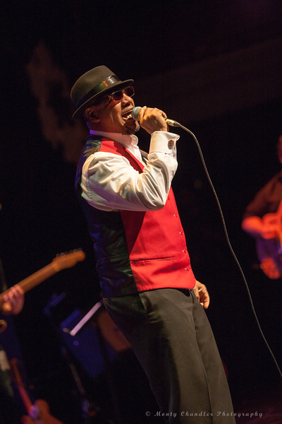 Jay Rogers Bluesman performing at the Tosco Music Holiday Party held in the McGlohon Theater at Spirit Square in Charlotte, NC, Dec10th 2016.