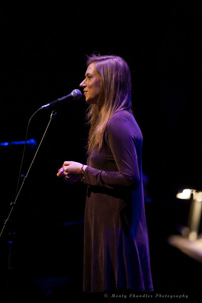Ellie Morgan performing at the Tosco Music Holiday Party held in the McGlohon Theater at Spirit Square in Charlotte, NC, Dec10th 2016.