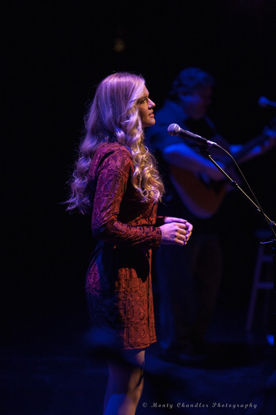 Callie performing at the Tosco Music Holiday Party held in the McGlohon Theater at Spirit Square in Charlotte, NC, Dec10th 2016.