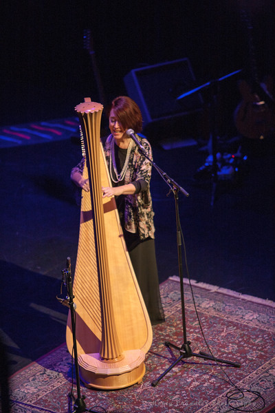 Christine Van Arsdale performing at the Tosco Music Holiday Party held in the McGlohon Theater at Spirit Square in Charlotte, NC, Dec10th 2016.