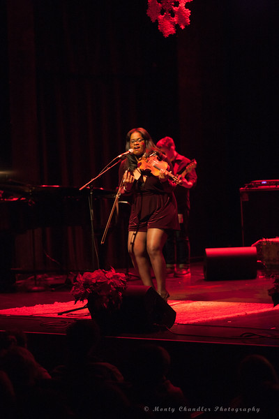 Sai Harley performing at the Tosco Music Holiday Party held in the McGlohon Theater at Spirit Square in Charlotte, NC, Dec10th 2016.