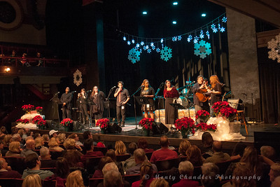 TMP Choir sing-along at the Tosco Music Holiday Party held in the McGlohon Theater at Spirit Square in Charlotte, NC, Dec10th 2016.