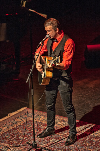 Chris Trapper performing at the Tosco Music Holiday Party held in the McGlohon Theater at Spirit Square in Charlotte, NC, Dec10th 2016.