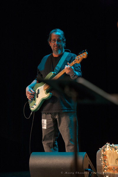 Phil Carias performing at the Tosco Music Holiday Party held in the McGlohon Theater at Spirit Square in Charlotte, NC, Dec10th 2016.
