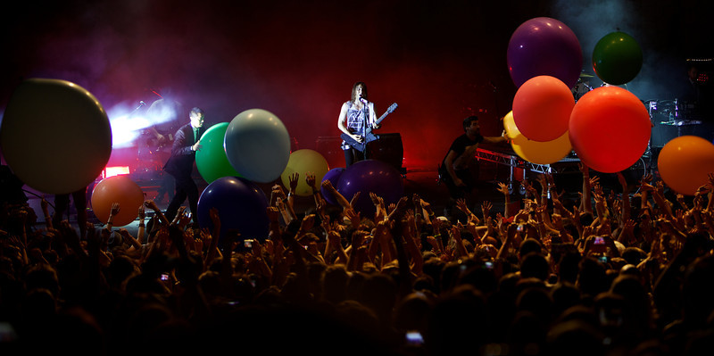 Thirty Seconds to Mars at the Crazy Week 2013 Festival in Nice