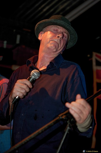 John Kenny (Rockmelons, Funkhouse Band)<br /> Tea Club, Berry St., Nowra, NSW