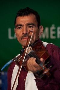 Trinidad Lovo of Chanchona Los Hermanos Lovo (music of El Salvador)
