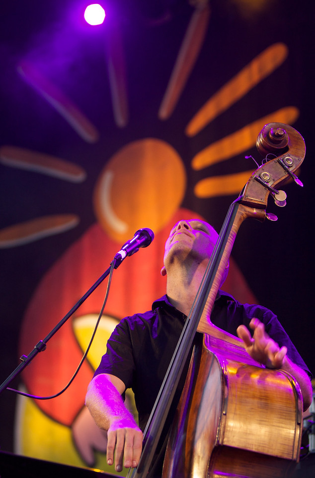 Avishai Cohen plays at the Nuits du Sud 2009 Festival