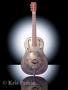 American Dobro, Front View