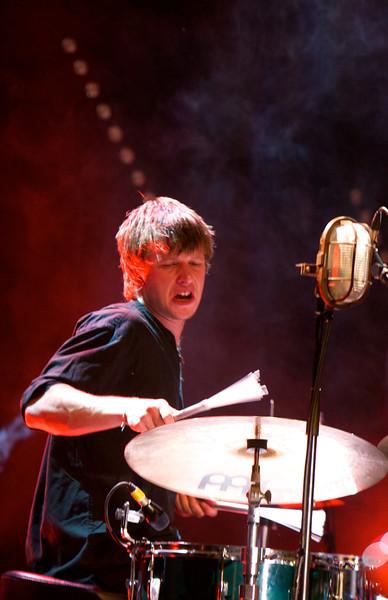Romain Métra (batteur de Jacques Higelin)