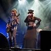 Divinyls (Mark McEntee, Christina Amphlett)<br /> Enmore Theatre 2007<br /> Sydney, NSW