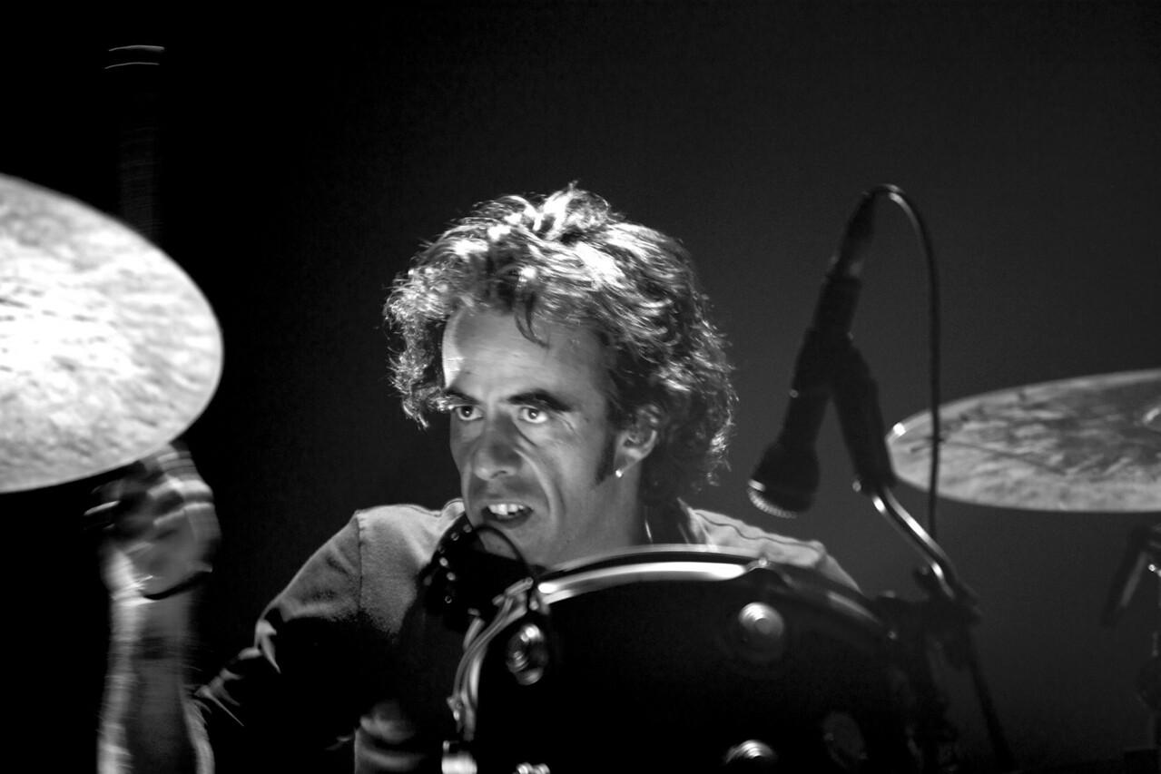 Matthieu Rabaté en concert avec Zazie
