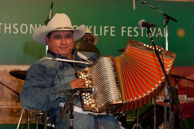 David Farias of Los Texmaniacs
