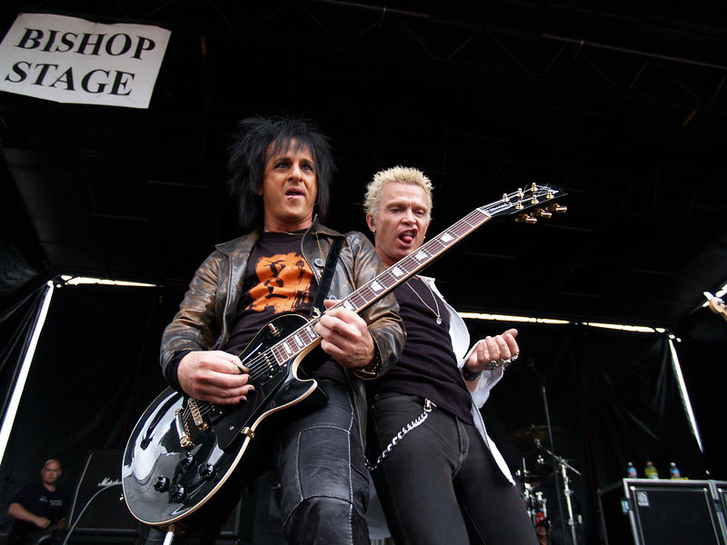 Portland 1113 billy idol steve stevens tour