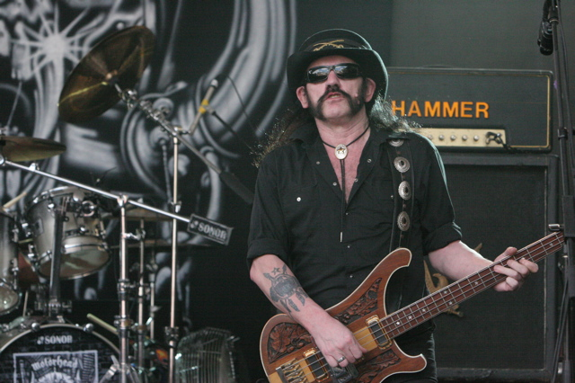 Lemmy Kilmister of the band Motorhead at Stubbs in Austin TX for SXSW 2008