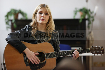 Luan Parle Songwriting Workshop at McAuley Place, Naas (March 2014)