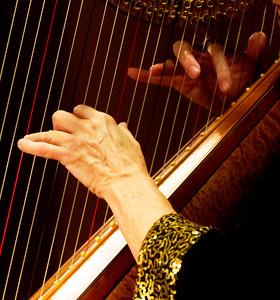 Harpist's hands