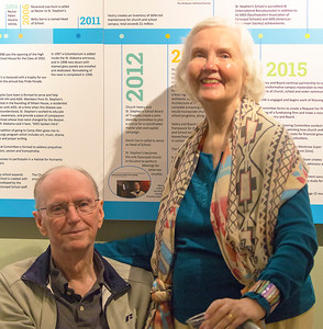 Longtime SCCMS supporters, Jerry and Carolyn Warren
