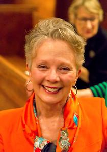 Tonight's underwriter, Carole Keating