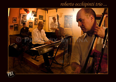 Roberto Occhipinti Trio plays the Dora Keough Pub, along with Special Guest, Phil Dwyer ...