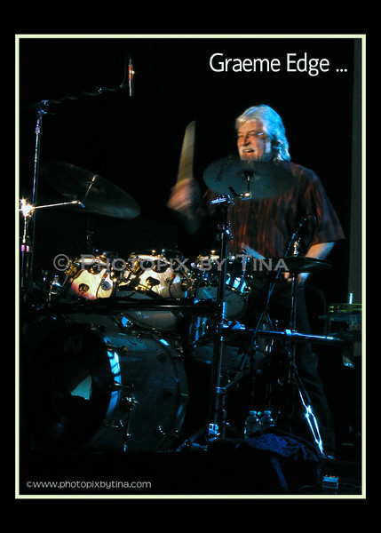 Graeme Edge of the Moody Blues ...<br /> Molson Canadian Amphitheatre, Toronto<br /> September 23, 2011