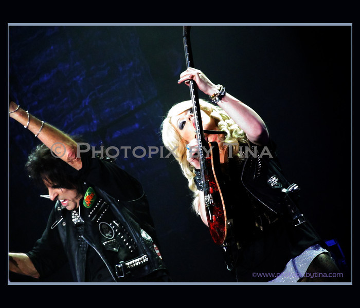 Alice Cooper and Orianthi ...<br /> GM Centre, Oshawa<br /> December 7, 2011 edit