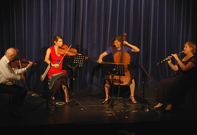 Wilfred Lehmann, Rebecca Harris, Anastasia Coroneo and Lisa Jennings, Fundraising Concert