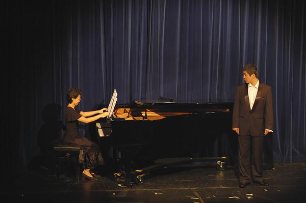 Chen Hui and Kang Wang, Fundraising Concert