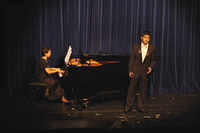 Chen Hui and Kang Wang, Fundraising Concert
