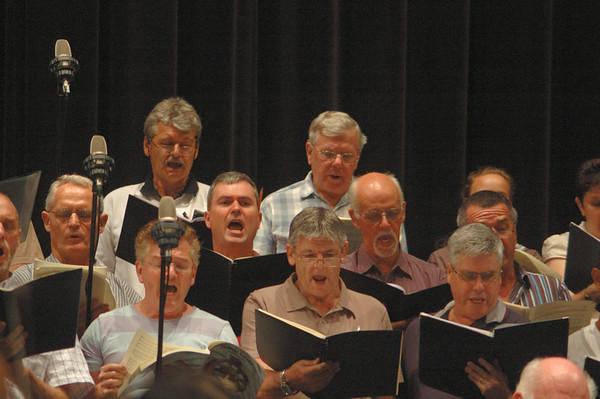 Carmina Burana, Rehearsal 13.11.09.