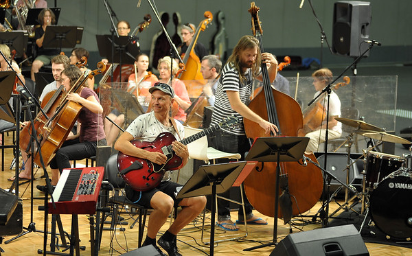Christmas with James Morrison, Darwin Convention Centre, Rehearsal 7.12.14.