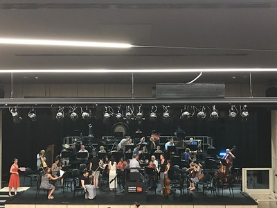 DSO Fund Raising Gala, Rehearsals