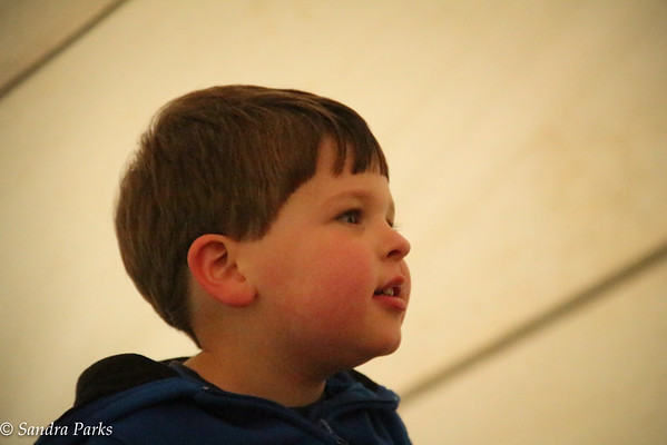 Nicholas at the raffle