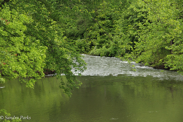 Moorman's River,  Sunday mornong