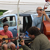 Sunday morning jam, with Bruce and Pierce and Mike and Dan
