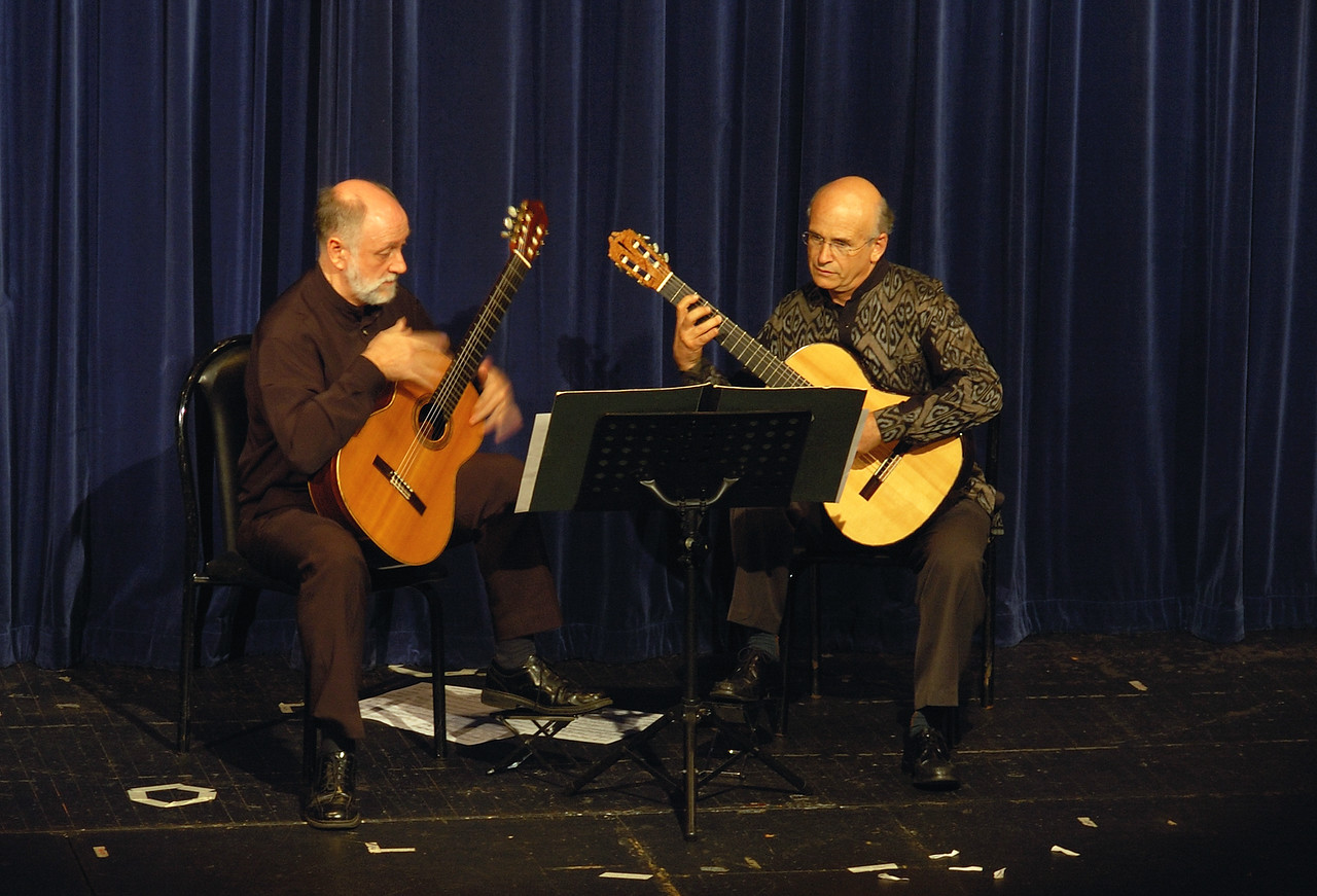 Adrian Walter and Stephan Bulmer - Fundraising Concert, 3.11.07.